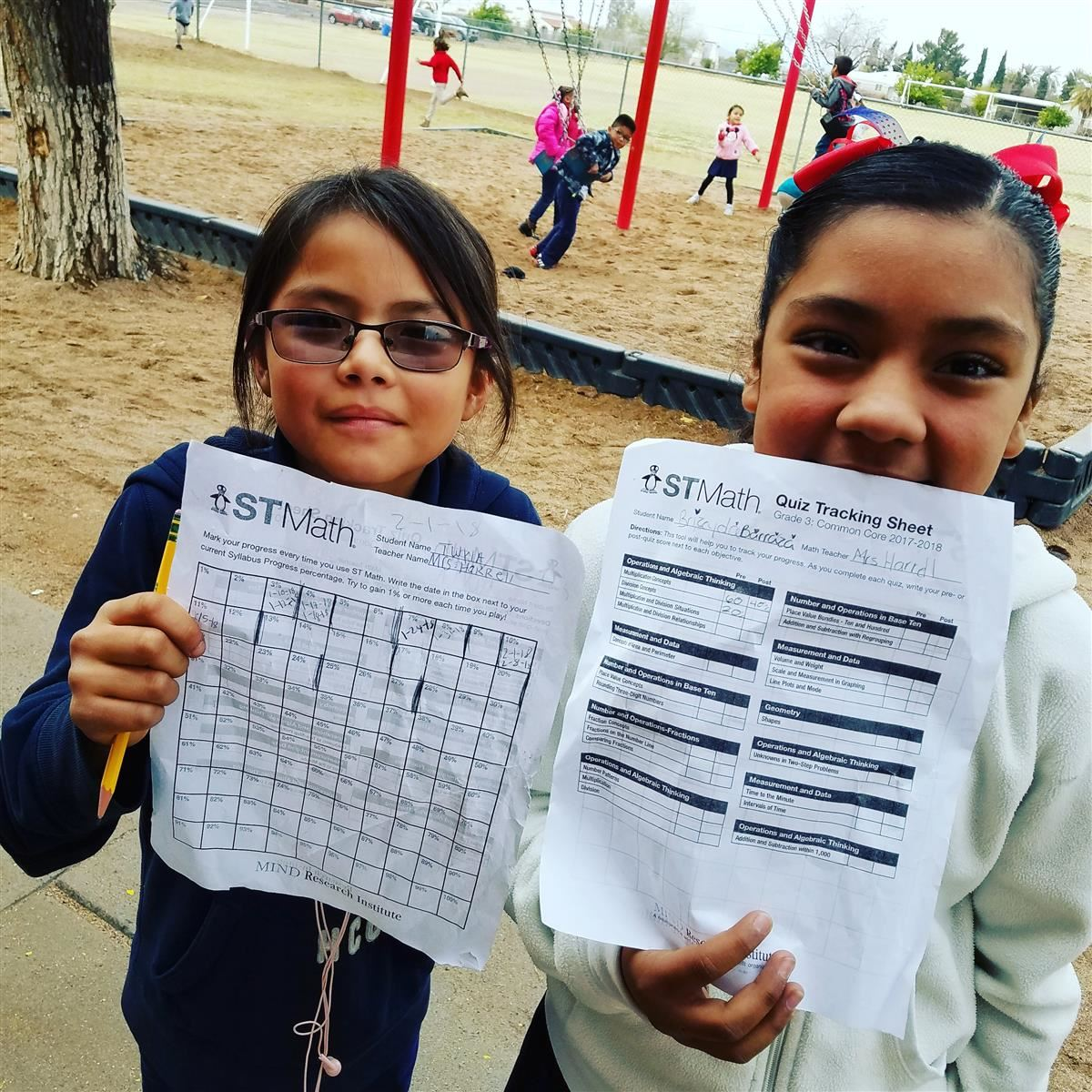 ST MATH Data Tracking