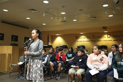 Chavez School Eighth Grader Wins Annual RSD No. 66 Spelling Bee