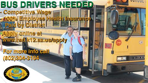 Bus Drivers Needed Advertisement