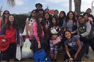 Students Visit Catalina Island